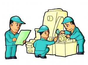 現場設備の定期保全管理
