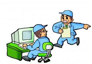 工場の製造現場管理