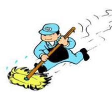 現場の清掃掃除の基本