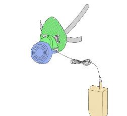 呼吸補助形PAPRの例