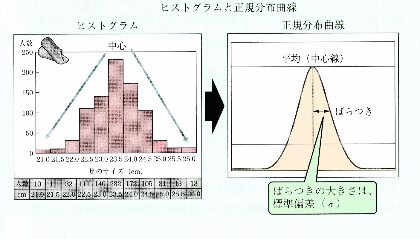 正規分布 曲線
